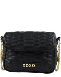 XOXO Quilted Snake Crossbody Bag