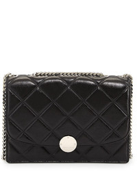 Marc Jacobs Quilted Trouble Shoulder Bag Black