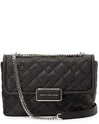 Marc by Marc Jacobs Rebel 24 Quilted Crossbody Bag Black