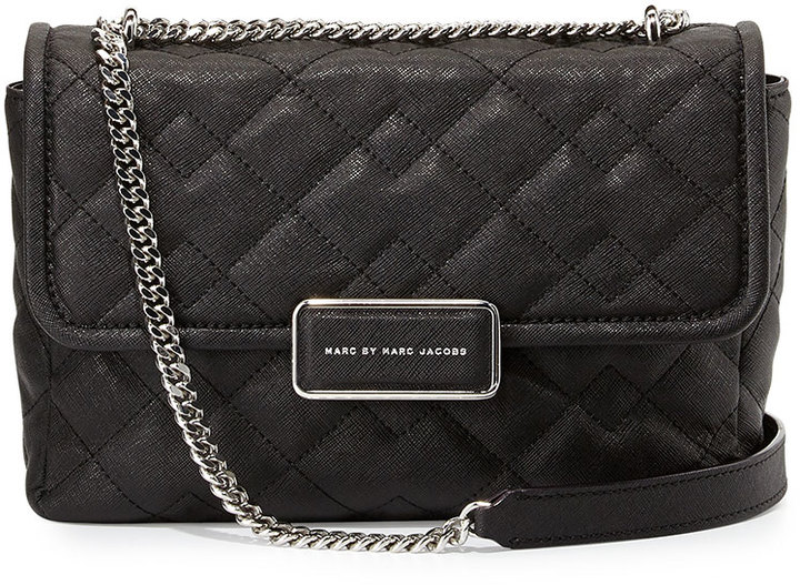 Marc By Marc Jacobs Rebel 24 Quilted Crossbody Bag Black Where To