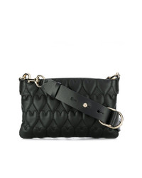 RED Valentino Red Beating Hearts Shoulder Bag