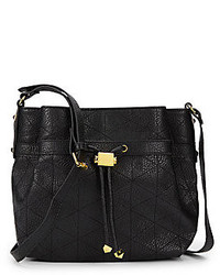 Saks Fifth Avenue Quilted Faux Leather Crossbody Bag