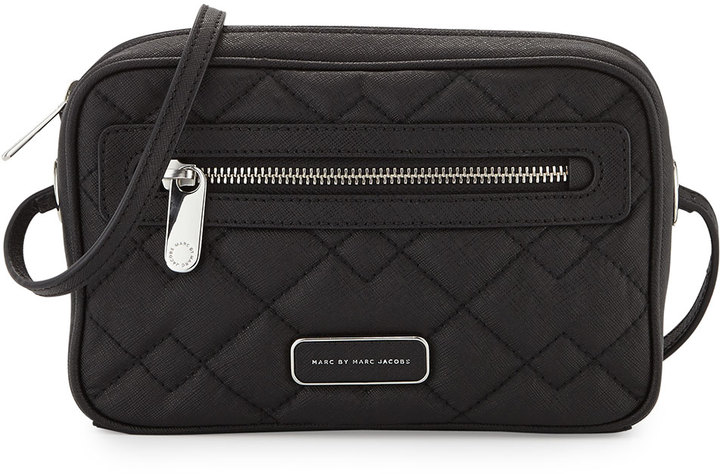 Marc by Marc Jacobs Sally Quilted Crossbody Bag Black   Where to ... : marc jacobs quilted crossbody bag - Adamdwight.com