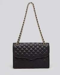 Rebecca Minkoff Shoulder Bag Quilted Affair With Gold Tone Hardware