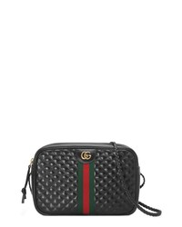 79445f8f Women's Black Quilted Leather Crossbody Bags by Gucci | Women's ...