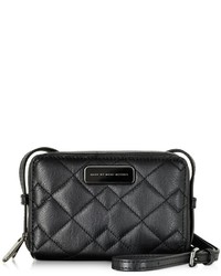 Marc by Marc Jacobs Sophisticato Black Quilted Leather Crossbody Bag