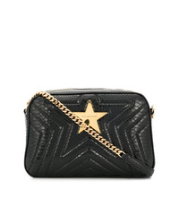 79c45940cba1 Women s Black Quilted Leather Crossbody Bags by Stella McCartney ...