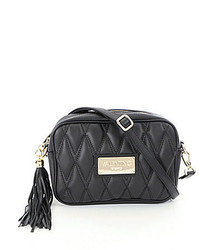 Valentino By Mario Valentino Mia Quilted Cross Body Bag With Tassel