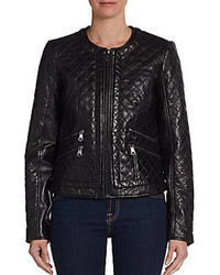 Marc New York Milly Quilted Leather Jacket