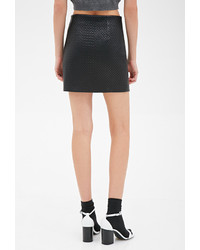 Forever 21 Quilted Faux Leather Skirt | Where to buy & how to wear