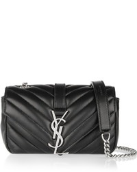 Saint Laurent Baby Chain Monogramme Quilted Leather Shoulder Bag