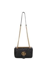 Gucci Black Small Marmont Bag