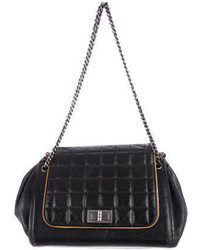 Chanel Square Quilt Accordion Bag