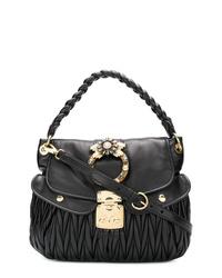 Miu Miu Coffer Tote Bag
