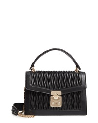 Miu Miu Confidential Matelasse Quilted Lambskin Leather Bag