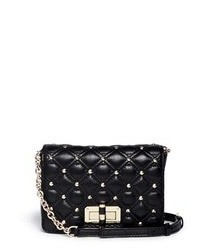 Diane von Furstenberg 440 Gallery Bellini Quilted Leather Stud Crossbody Bag