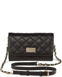 DKNY Quilted Nappa Leather Crossbody