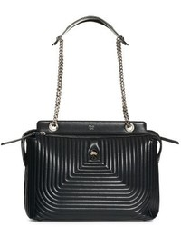 Fendi Dotcom Quilted Lambskin Leather Shoulder Bag