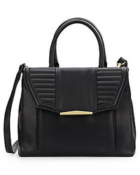 Eva Faux Leather Satchel