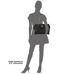 3852feb4bc Salvatore Ferragamo Ginette Vara Quilted Leather Shoulder Bag ...