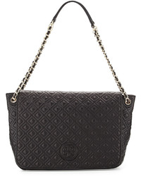 Tory Burch Marion Quilted Shoulder Bag Black