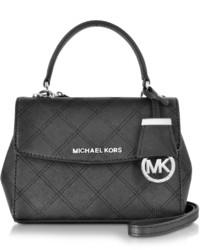 Michael Kors Michl Kors Ava Saffiano Stitch Quilt Leather Extra Small Crossbody Bag
