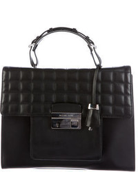 Michael Kors Michl Kors Quilted Leather Satchel