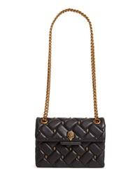 Kurt Geiger London Mini Kensington Eagle Studded Quilted Leather Crossbody Bag