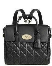 Mulberry Cara Delevingne Convertible Quilted Leather Satchel