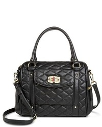 Merona Quilted Crossbody Faux Leather Handbag