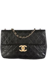 Chanel Quilted Jumbo Xl Flap Bag