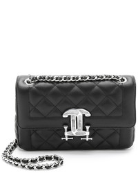 Moschino Quilted Leather Shoulder Bag