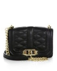Rebecca Minkoff Mini Quilted Love Leather Crossbody Bag