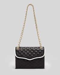 Rebecca Minkoff Shoulder Bag Studded Colorblock Mini Quilted Affair