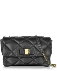Salvatore Ferragamo Gelly Quilted Nappa Leather Shoulder Bag