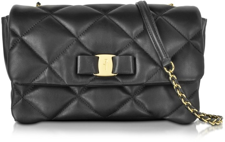Черная сумка ferragamo