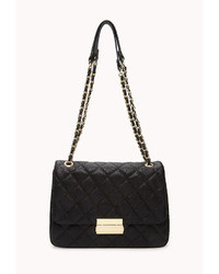 Forever 21 Signature Quilted Shoulder Bag