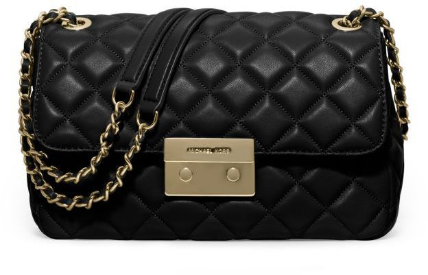 0f291a453d52 Michael Kors Sloan Large Quilted Leather Shoulder Bag, $328 | Michael Kors  | Lookastic.com