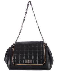 Chanel Square Quilt Accordion Bag