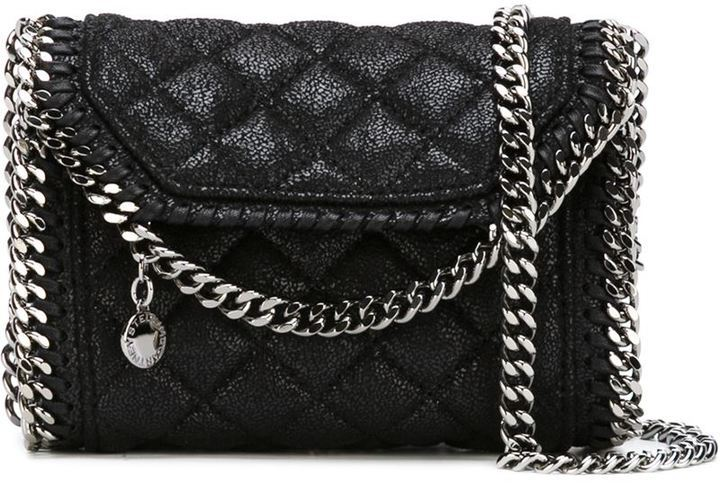 Stella McCartney Falabella Quilted Crossbody Bag