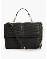 Talbots Quilted Leather Satchel