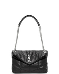 Saint Laurent Taupe Small Loulou Bag