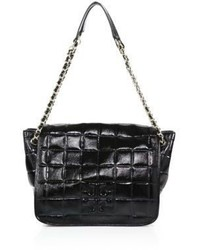 Tory Burch Marion Quilted Patent Leather Shoulder Bag