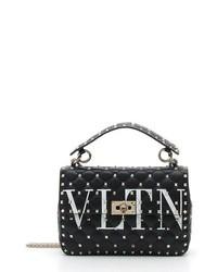 Valentino Garavani Vltn Logo Candystud Lambskin Satchel