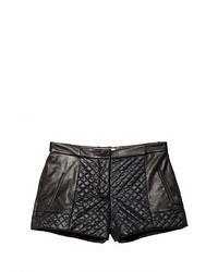 Addition quilted leather shorts medium 94898