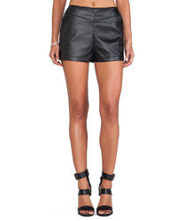 BB Dakota Hanson Faux Leather Short