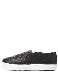 Dollhouse Quilted Slip On Sneakers