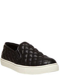Steve Madden Ecentrcq Quilted Faux Leather Slip Ons
