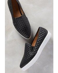 Jslides Quilted Slip On Sneakers