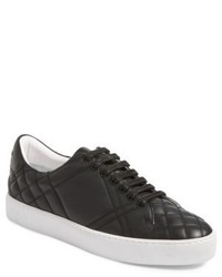 Burberry Check Quilted Leather Sneaker